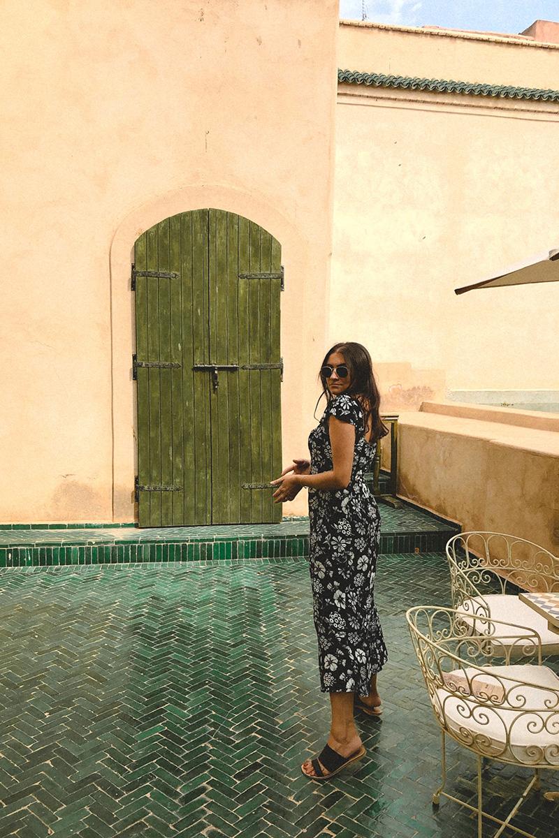 flaviana boni viaggio a Marrakech