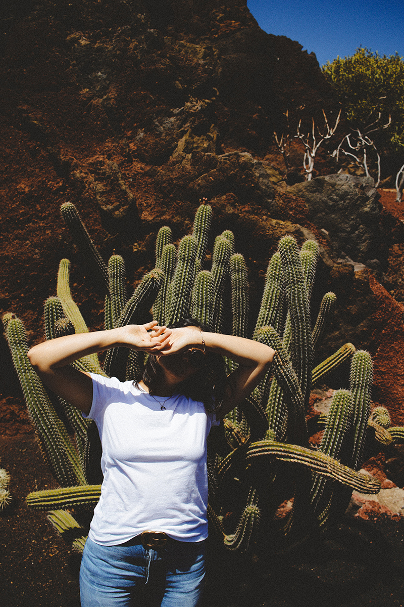 Flaviana Boni Giardino dei Cactus a Lanzarote