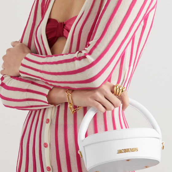borse bianche estate 2020 Jacquemus